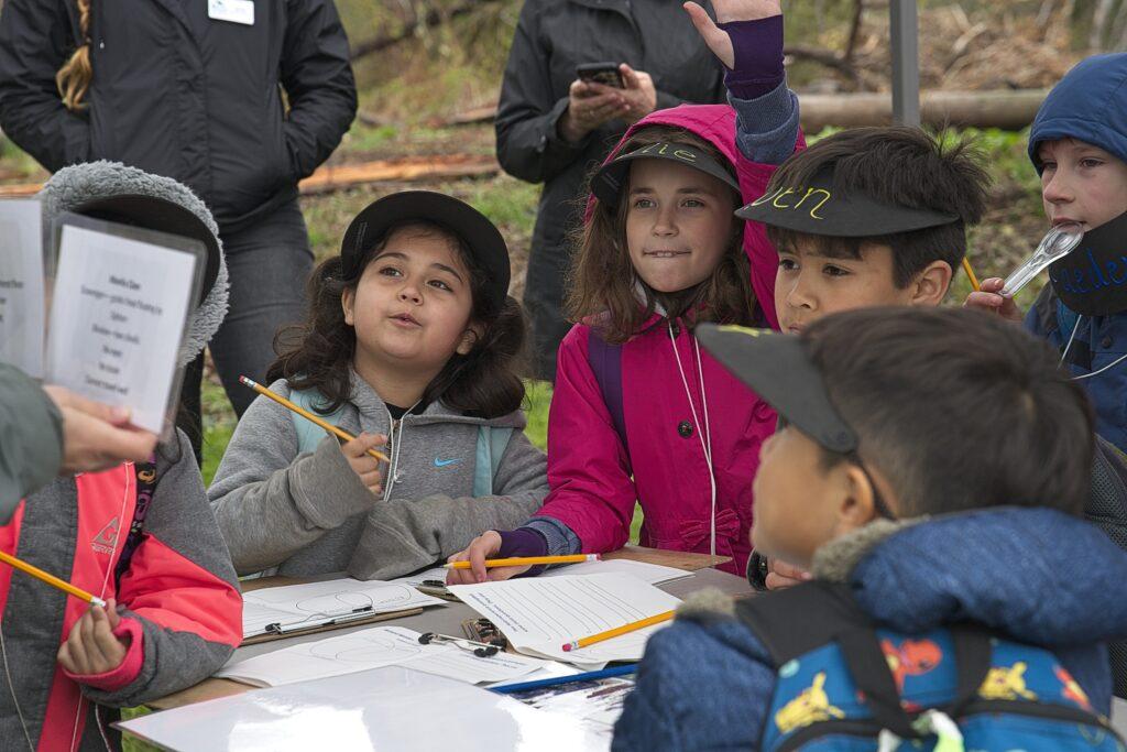 Students at Inspiring Kids Preserve